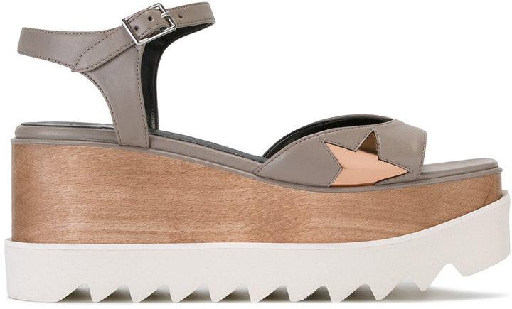 Stella McCartney star cut-out sandals