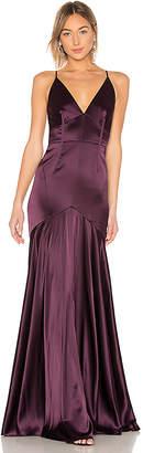 Jill Stuart V Neck Gown