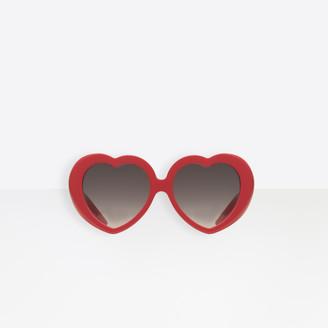 3d8a3018ee6b Balenciaga Susi Heart Sunglasses