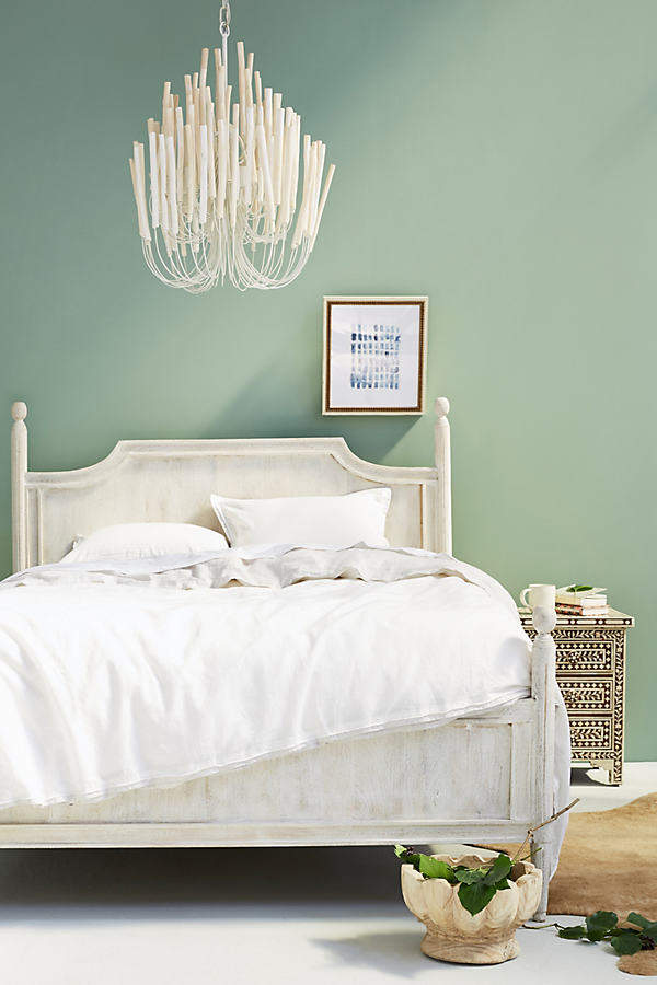 Anthropologie Anthropologie Washed Wood Bed