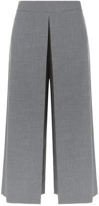 Alexander Wang Houndstooth Wide Leg Trousers