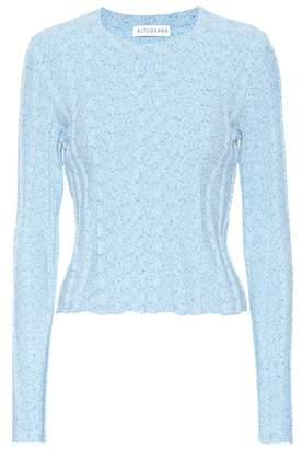 Altuzarra Cotton-blend top