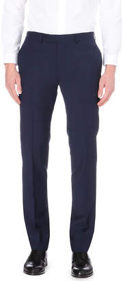 Sandro Wool and mohair-blend slim-fit trousers