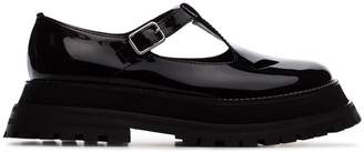 Burberry black Aldwych patent leather loafers