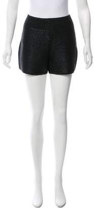 Sass & Bide Textured Mini Shorts