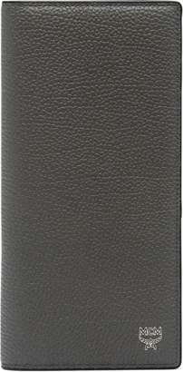 MCM Ottomar Long Bifold Wallet In Grained Leather