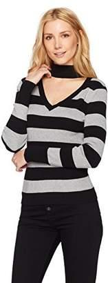 525 America Women's Rib Choker Rugby Stripe