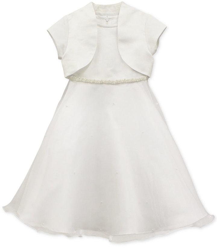 Jayne Copeland Girls' Communion Jacket Dress