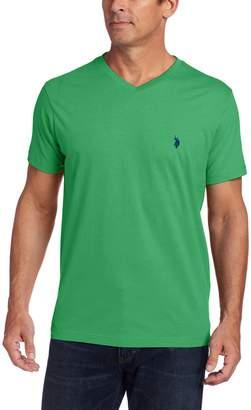 U.S. Polo Assn. Men's V-Neck Short Sleeve T-Shirt