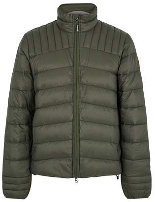 Canada Goose Brookvale Army Green Quilted Shell Jacket