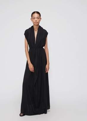 Ann Demeulemeester Sleeveless Wrap Dress