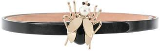 RED Valentino bug buckle belt