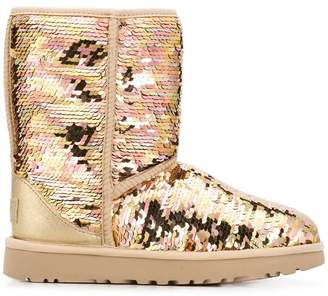 UGG sequinned boots