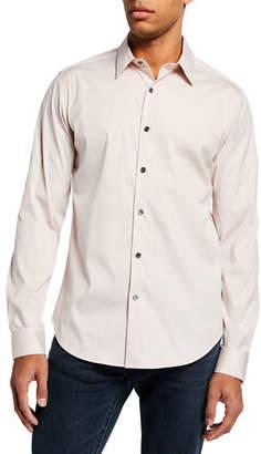 Theory Men's Sylvain Cotton Sport Shirt