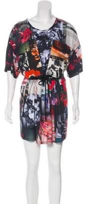 Kenzo Floral Print Shift Dress
