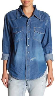 One Teaspoon Zeppelin Western Shirt