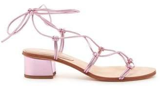 Pour La Victoire Jules Lilac Gladiator Sandal