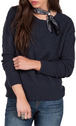 Volcom Chained Down Knit Crewneck Sweater $49.50 thestylecure.com