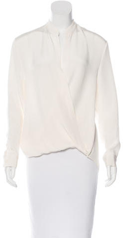 3.1 Phillip Lim 3.1 Phillip Lim Draped Silk Blouse