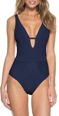 Becca Loredo Rib One-Piece Swimsuit