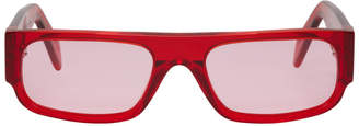Super Red Smile Sunglasses