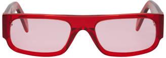 Super Red Smile Sunglasses