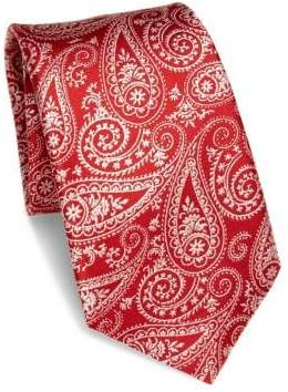Saks Fifth Avenue COLLECTION Paisley Silk Tie