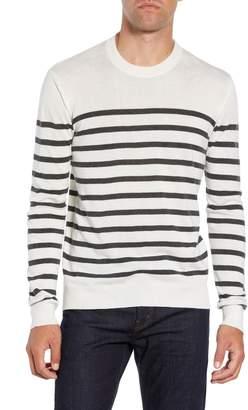 ATM Anthony Thomas Melillo Sailor Stripe Silk Blend Sweater