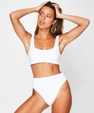 Insight Encrypted Bikini White