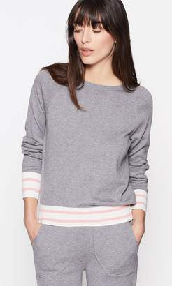 Equipment AXEL CROPPED TENNIS SWEATER