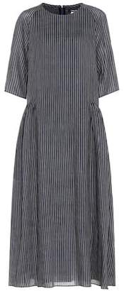 Max Mara S Zanzero striped midi dress