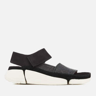 eaeda475efa91 Clarks Women s Trigenic Evo S Nubuck Sandals