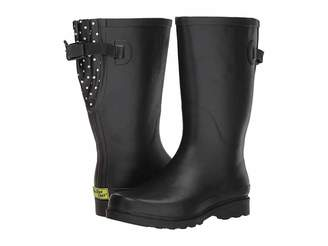 Western Chief Dot Pop Wide Calf Women's Rain Boots