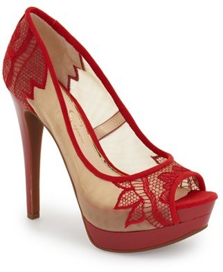 Jessica Simpson 'Saidey' Open Toe Platform Pump (Women) $88.95 thestylecure.com
