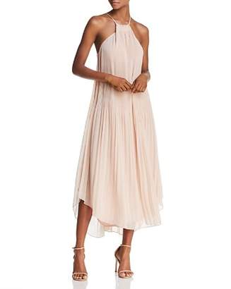 Ramy Brook Catalina Pleated Midi Dress