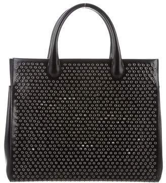 Alaia Grommet Top Handle Bag