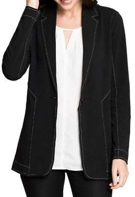 Nic+Zoe Perfect Seamed Jacket
