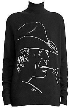 Ralph Lauren Women's 50th Anniversary Cowboy Silhouette Turtleneck Sweater
