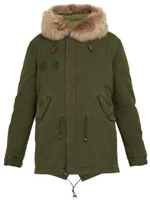 Mr & Mrs Italy Hooded Cotton Parka - Mens - Green