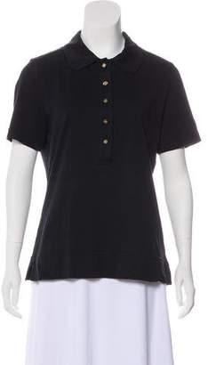Tory Burch Polo Short Sleeve Top