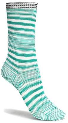 Missoni Striped Knitted Socks
