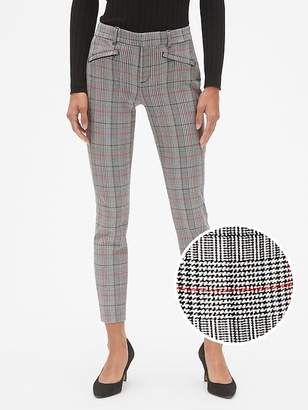 Gap Plaid Skinny Ankle Pants