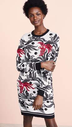 Kenzo Phoenix Jacquard Sweater Dress