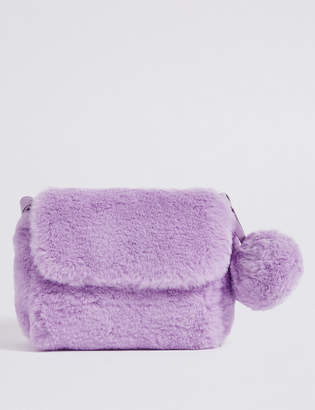 Marks and Spencer Kids' Faux Fur Novelty Cross Body Bag