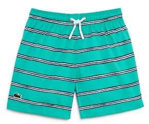 Lacoste Boys' Striped Swim Trunks - Little Kid, Big Kid