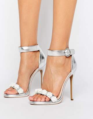 fa3ba0d29f6 Heels With Flower Detail - ShopStyle UK