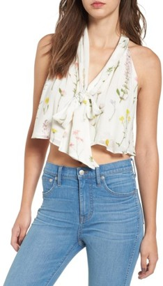 Women's Wildfox Wildflower Beverly Tank $138 thestylecure.com