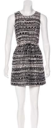 Gryphon Linen & Silk-Blend Mini Dress