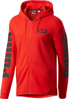 Puma Training Rebel Men's Full Zip Hoodie