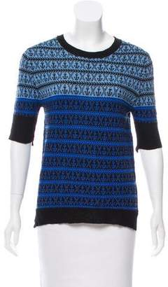 A.L.C. Anchor Pattern Knit Sweater